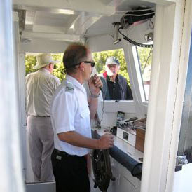 Paul Meyer (Captain) Phone: (021) 138 1702 info@riverheadferry.co.nz